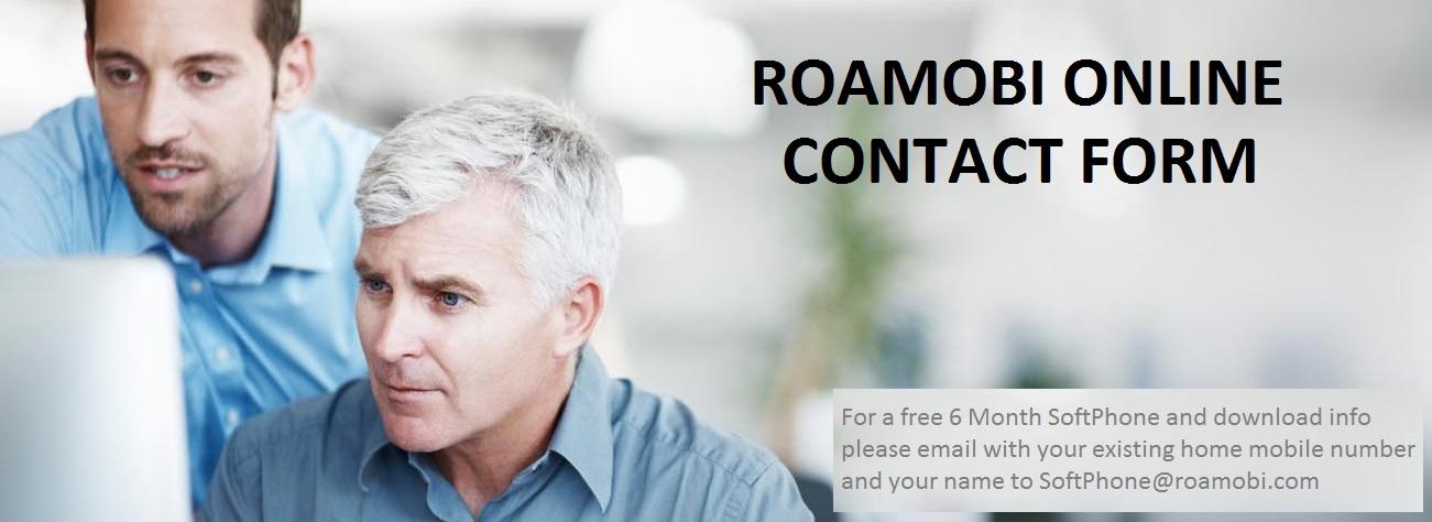 Roamobi-Online-Contact-Form