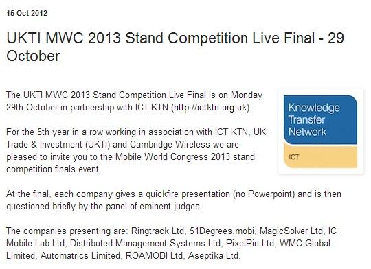 MWC-13-UKTI-Competition-Roamobi