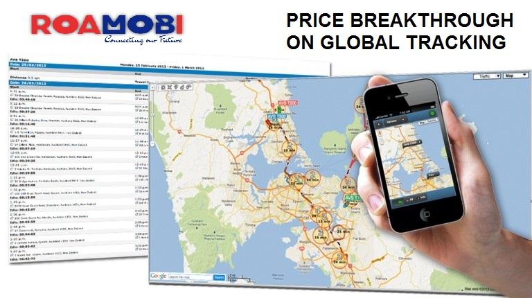 Roamobi-GSMTrace-GlobalTracking
